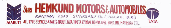Hemkund Moters & Automobiles sitarganj--Services For All Four Wheelers